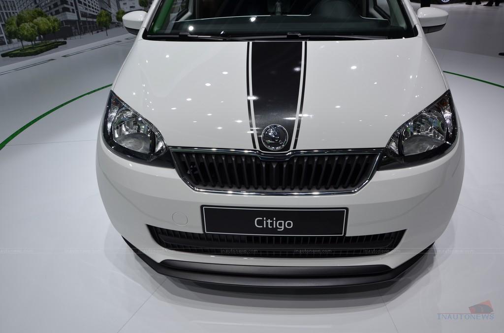 Женева 2012: 5-дверний хечбек Skoda Citigo