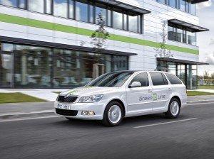 Компанія Skoda приступила до дорожніх випробувань електричного універсала Octavia Green E Line
