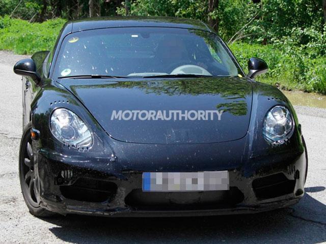 Перші зображення New Porsche Cayman