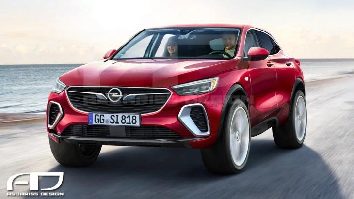 Флагманський кросовер Opel: нові зображення