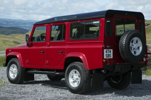 Компанія Land Rover представила нову версію