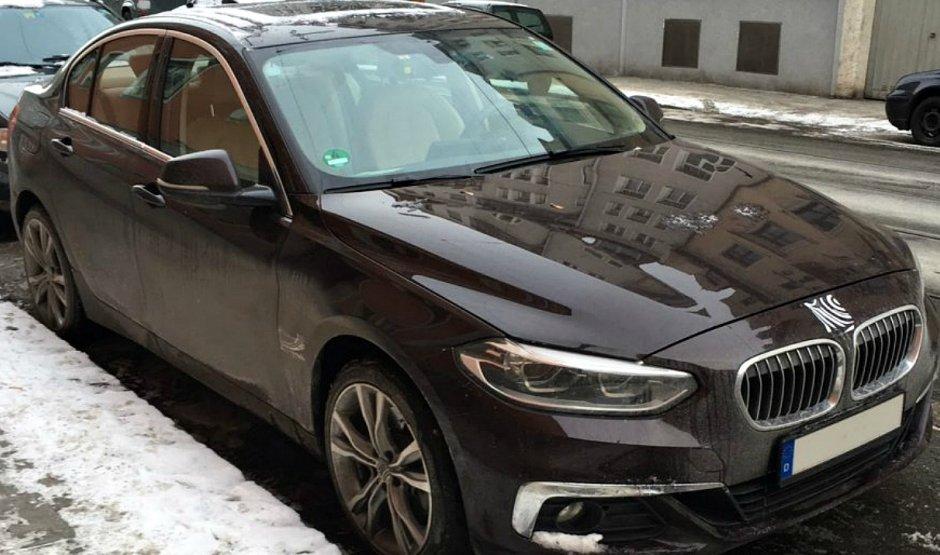 Вперше помічений новий седан BMW 1-Series