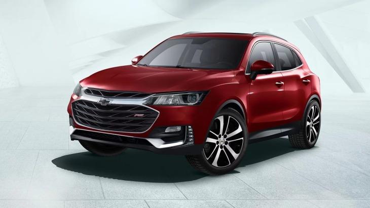 Кросовер Chevrolet Tracker нового покоління: перші зображення