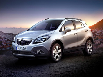 Opel Mokka - конкурент Nissan Juke