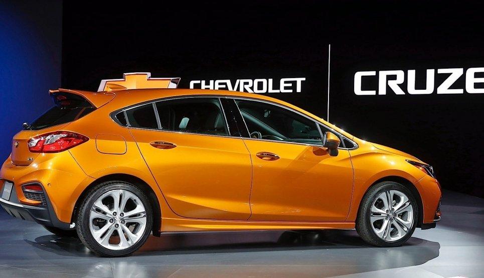 Chevrolet Cruze 2017: озвучена вартість нової моделі