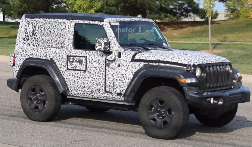 Jeep Wrangler 2019: нова інформація