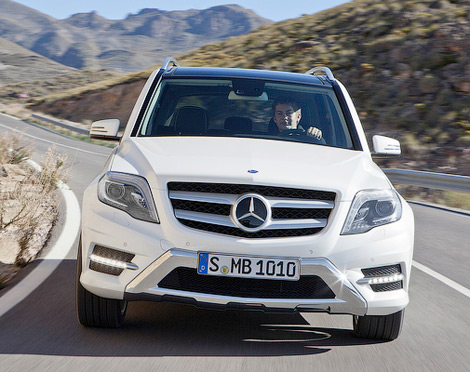 Mercedes-Benz оновив кросовер GLK