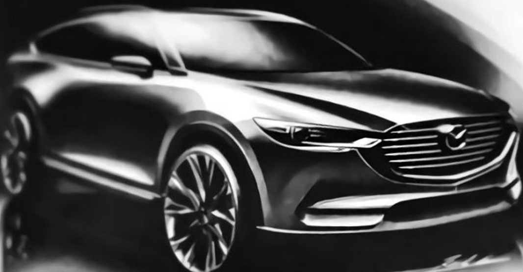 Cемимісний позашляховик Mazda CX-8: нова інформація