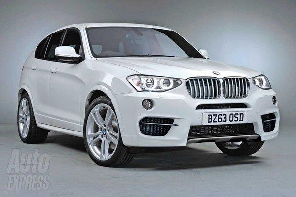 Перші зображення BMW X4