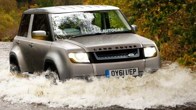Маленький Land Rover коштуватиме 27,5 тисячі доларів