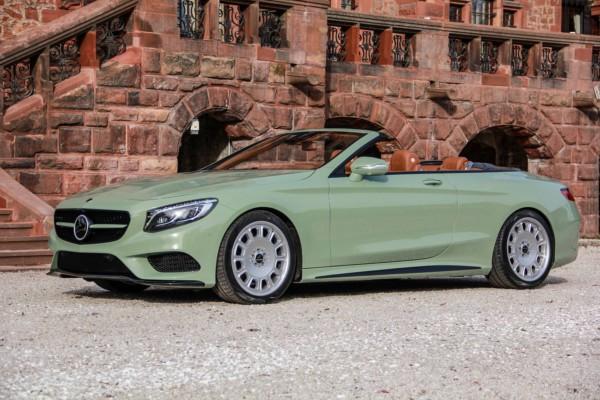 На базі Mercedes-Benz S-Class готують новий проект
