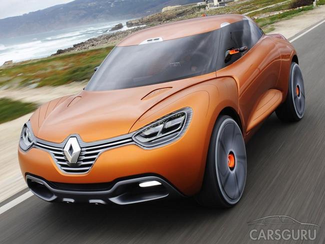 Renault розробляє невеликий кросовер