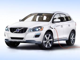 Компанія Volvo зробила з кросовера XC60 гібрид