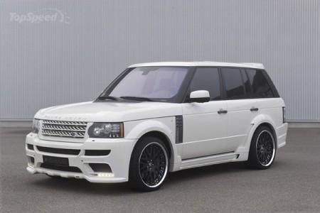 Турбований Hamann Range Rover
