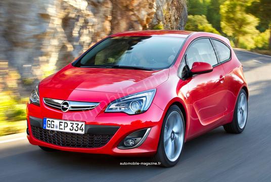 Нова Opel Corsa отримає трициліндровий турбомотор