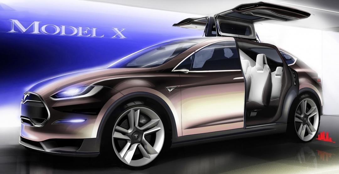 Електричний кросовер Tesla Model X: інформація про вихід на авторинок