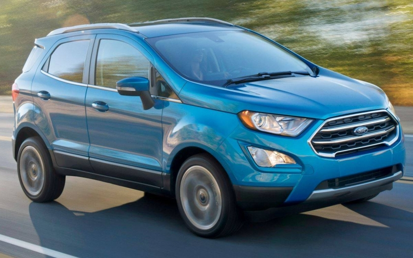 Офіційно представлений оновлений Ford EcoSport