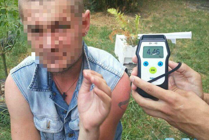 У Києві встановлено рекорд зі ступеня сп'яніння водія