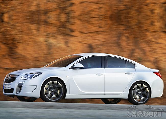 Opel Insignia стане набагато потіжнішим