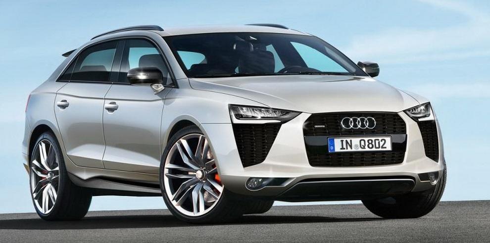 Audi Q8 2019: перше зображення