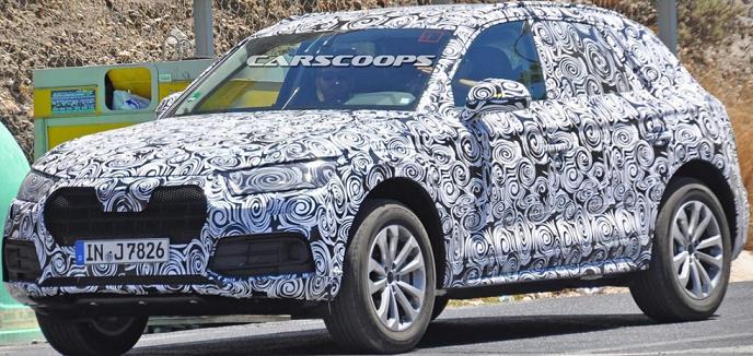 Новий Audi Q5 вже проходить випробування