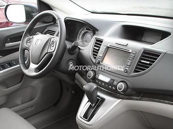 Фотошпигуни зняли салон нового Honda CR-V