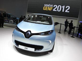 Електрокар Renault Zoe проїде без підзарядки 210 кілометрів