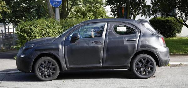 Кросовер на базі Fiat 500 вже готовий