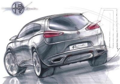 Alfa Romeo отримає кросовер не раніше 2015 року