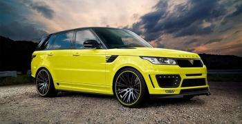 Range Rover отримав ряд доопрацювань