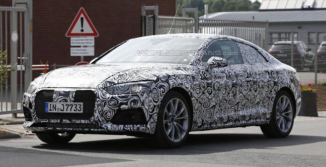 Audi A5 Coupe 2017: фото з тестувань