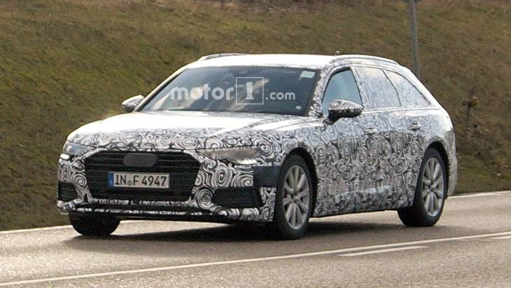 Новий Audi A6 Avant 2019: перші зображення