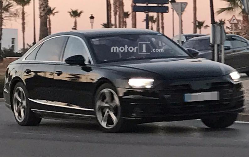Новий Audi A8 вперше помічений на журналістами