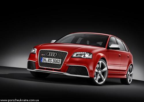 Audi показала заряджений A3