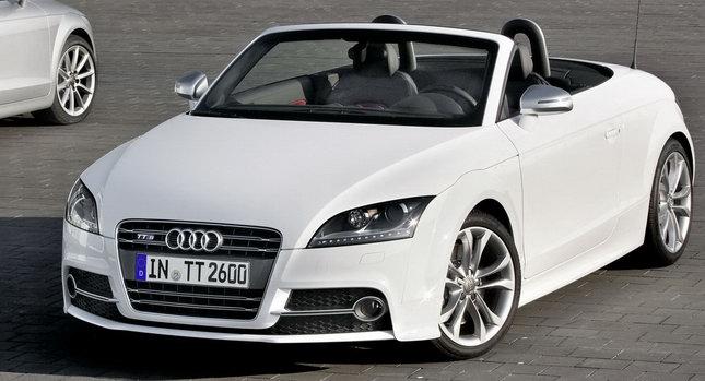 Оновлений Audi TT Coupe та Audi TT Roadster