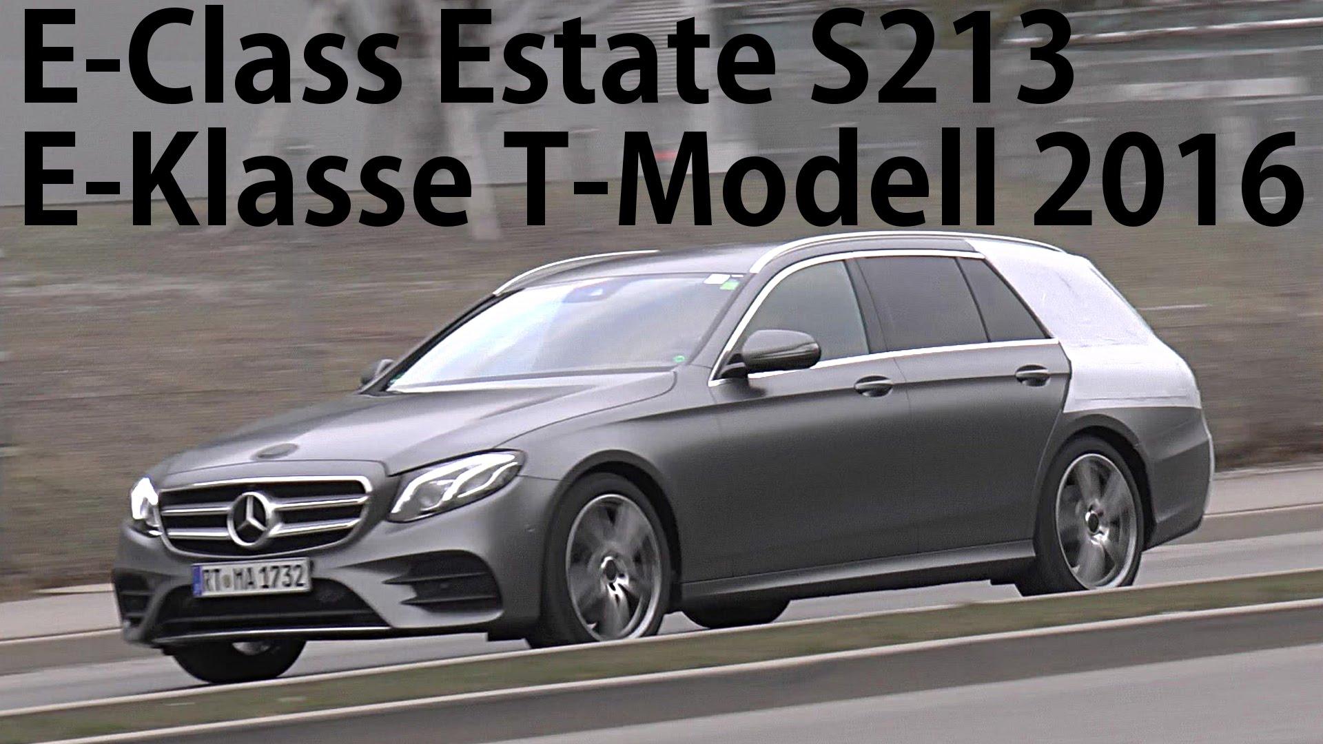 Перше відео нового Mercedes E-Class