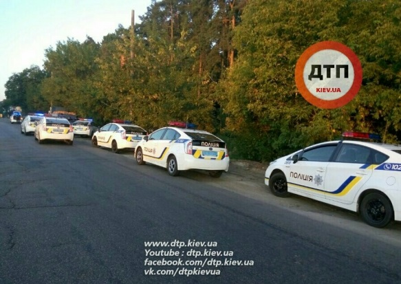 У Києві велика погоня: задіяно 8 патрульних автомобілів