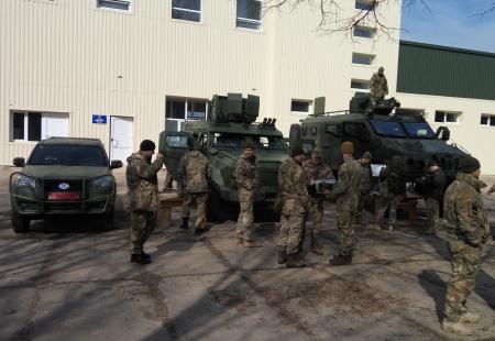 В Україні з'явився новий бойовий автомобіль