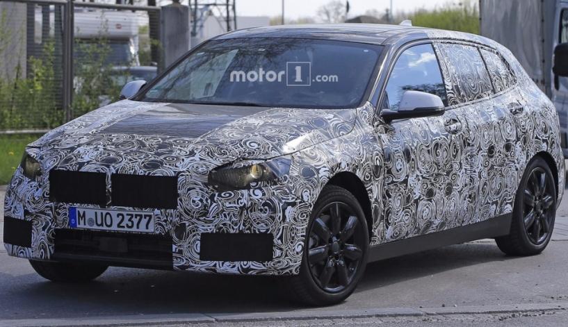 BMW 1-Series 2018: перші зображення