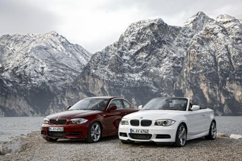 BMW показала оновлені кабріолет та купе першої серії