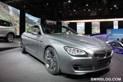 BMW 6-Series, інформація з Парижу