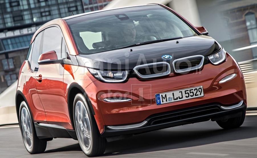 BMW i3 2019: перше зображення нового електромобіля