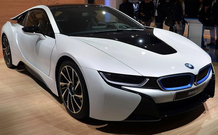 BMW i8 зазнає оновлення
