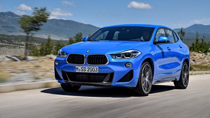 BMW представила новий кросовер X2