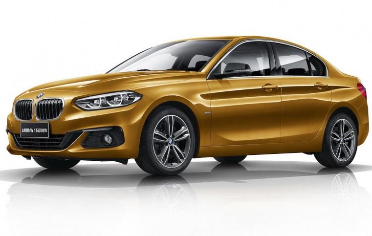 Седан BMW 1-Series: детальна інформація