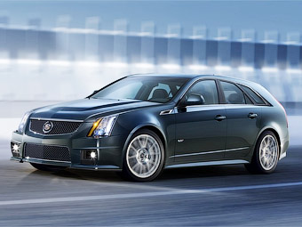 Супер універсал Cadillac CTS-V