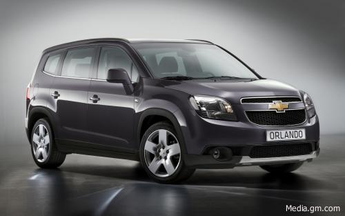 Новий мінівен від Chevrolet