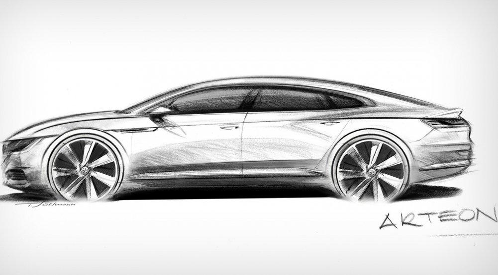 Volkswagen показав нову модель Arteon