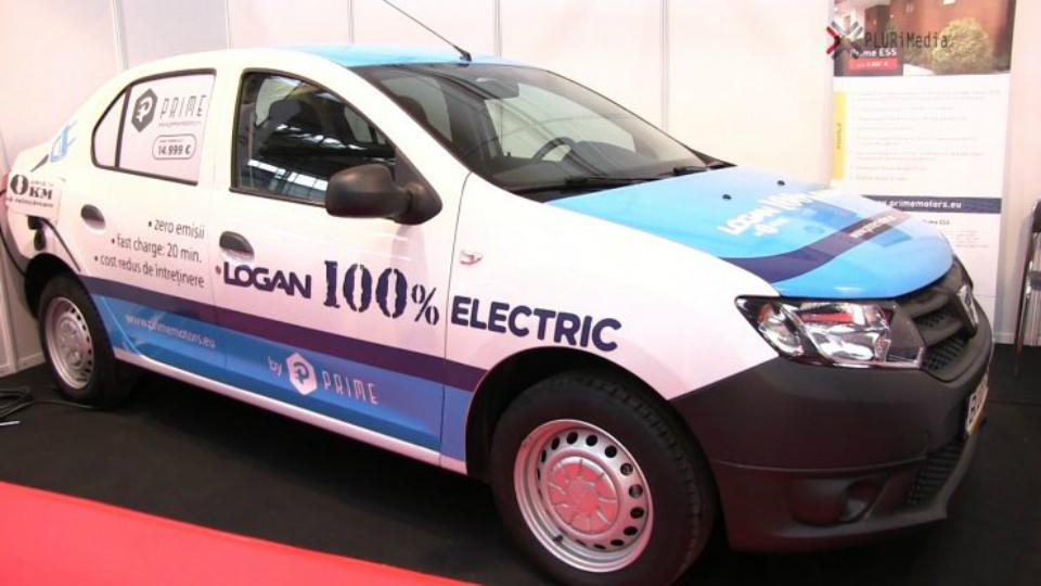 Dacia Logan - тепер електромобіль із запасом ходу 500 км