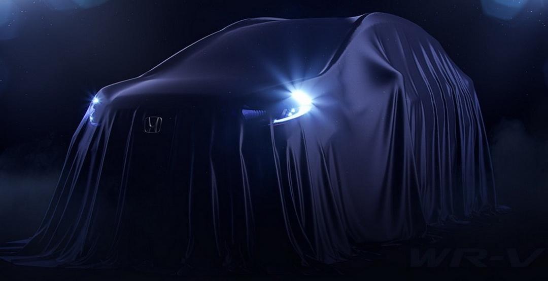 Honda WR-V: перше зображення нового кроссовера